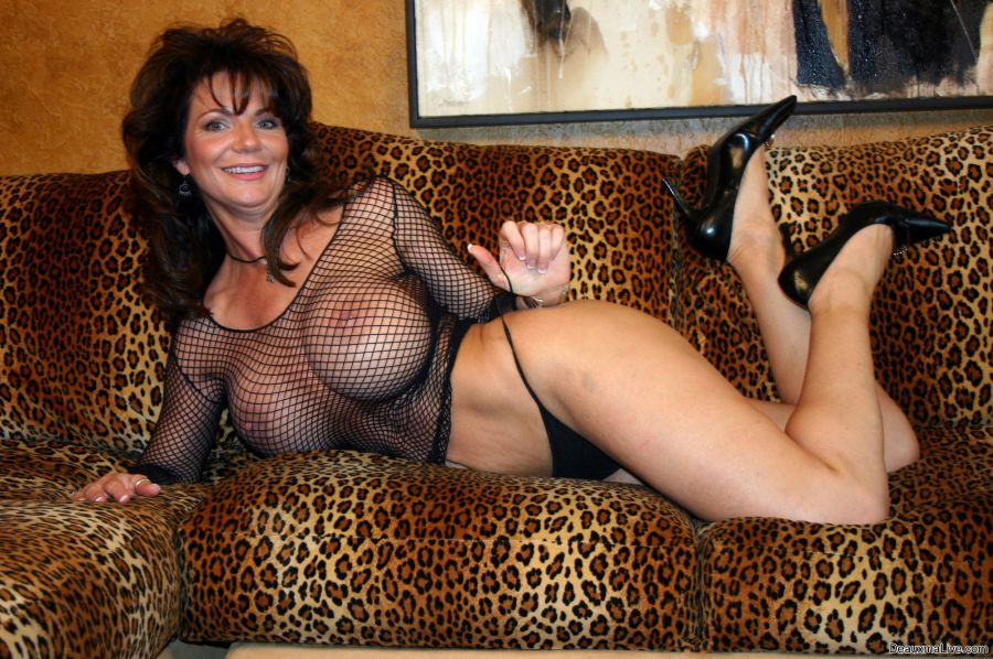 Milf with stockings