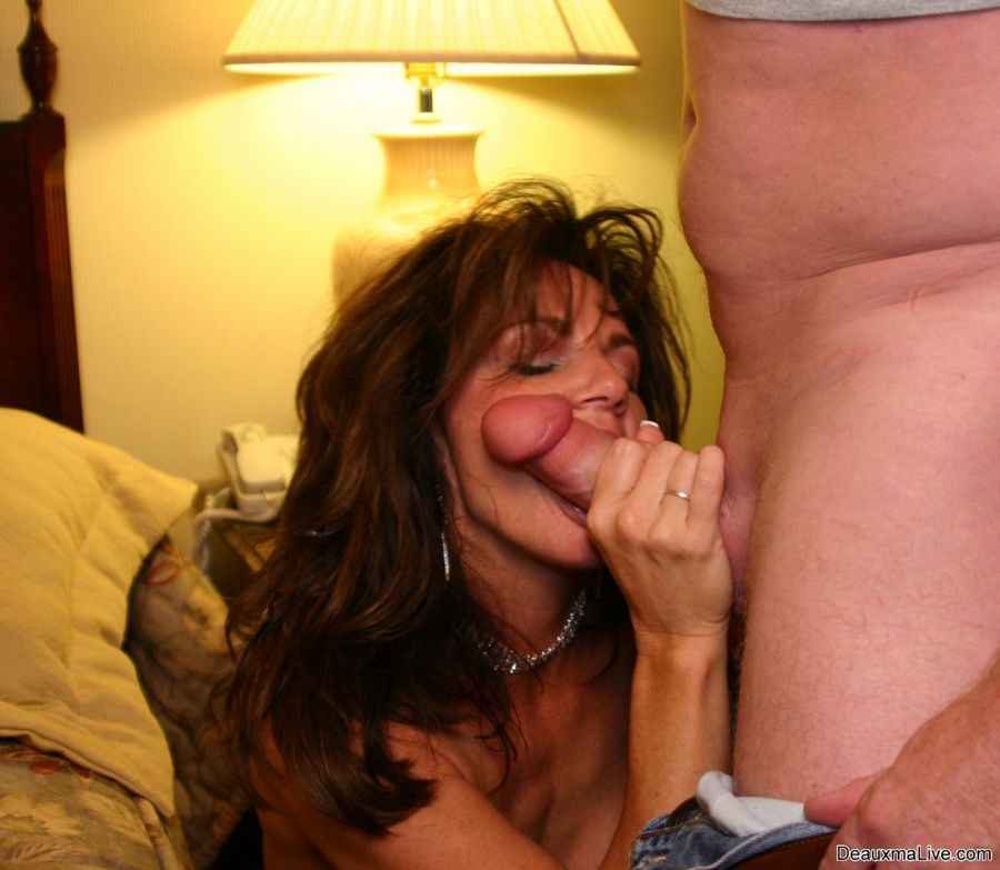 Deauxma sucking and fucking all