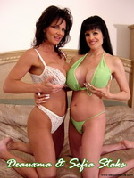 Monster Titted Deauxma & Sophia Staks  from deauxma live