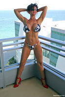 Busty Texas Babe Deauxma Looking Hot in a Tiny Bikini!  from deauxma live